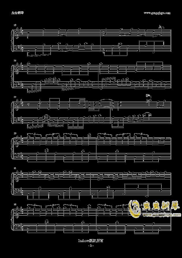 龙卷风钢琴谱 第2页