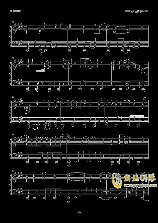 God knows钢琴谱 第4页