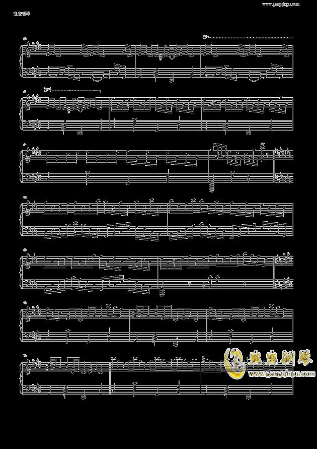 克罗地亚狂想曲钢琴谱 第4页