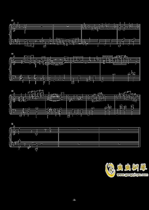 单身狗之歌钢琴谱 第2页
