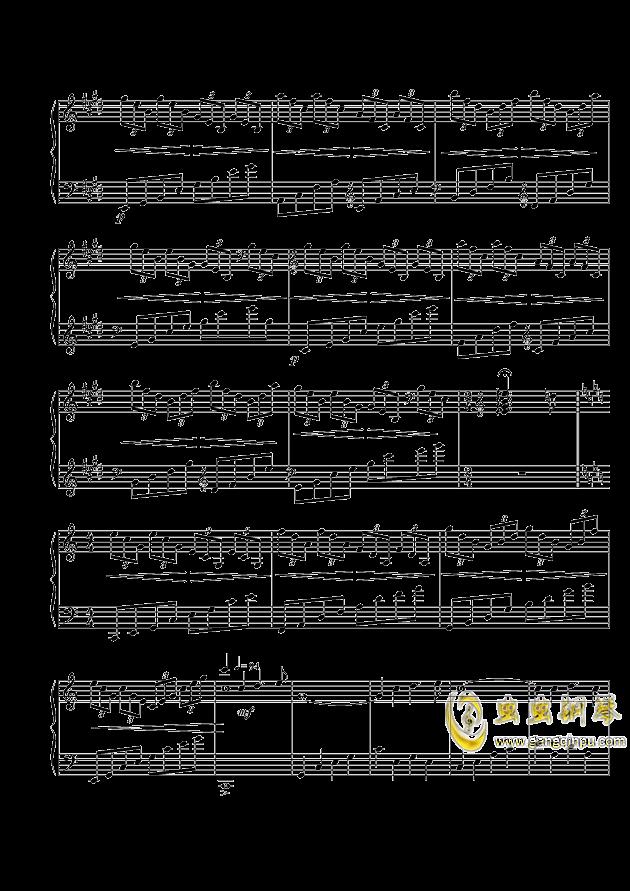 Peaceful Winds钢琴谱 第2页