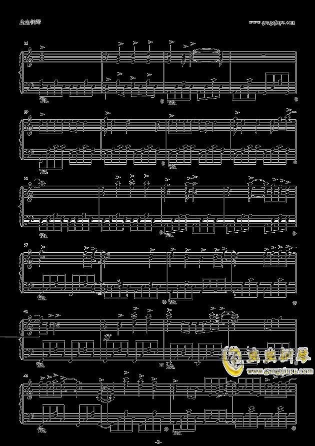 绯色の空钢琴谱 第2页