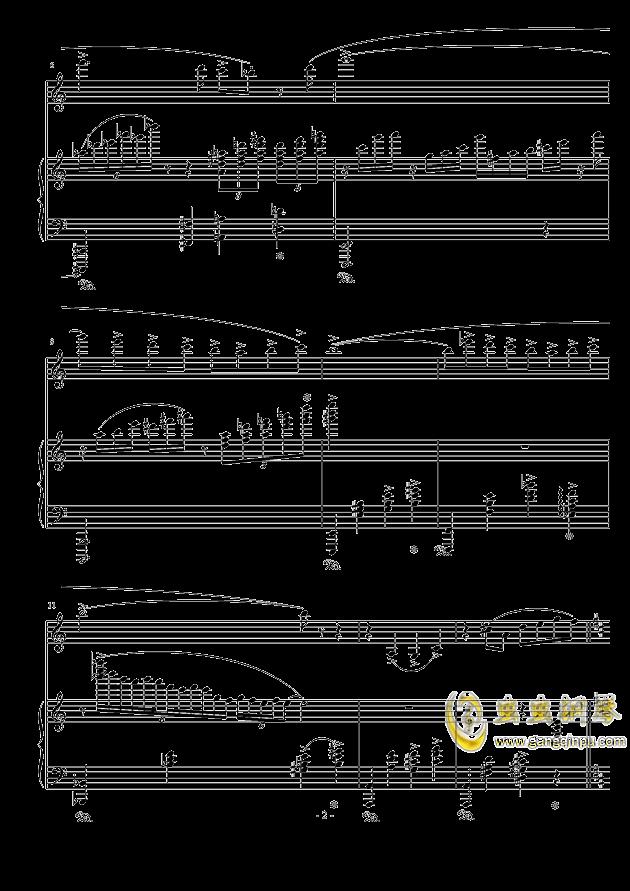 斯卡堡集市钢琴谱 第2页