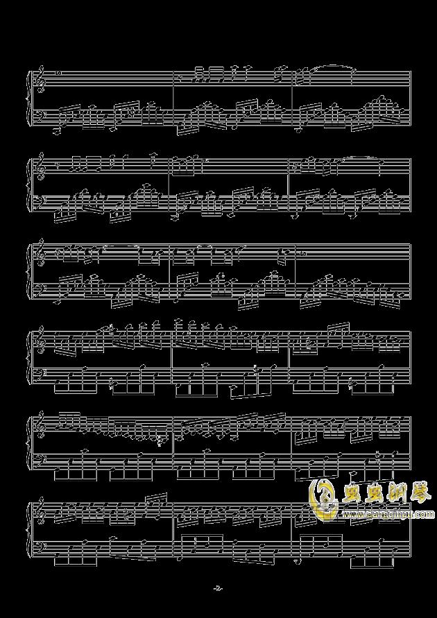 叶落离别情满天钢琴谱 第2页
