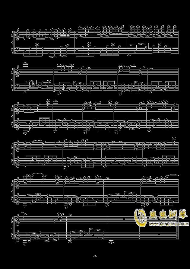 叶落离别情满天钢琴谱 第3页