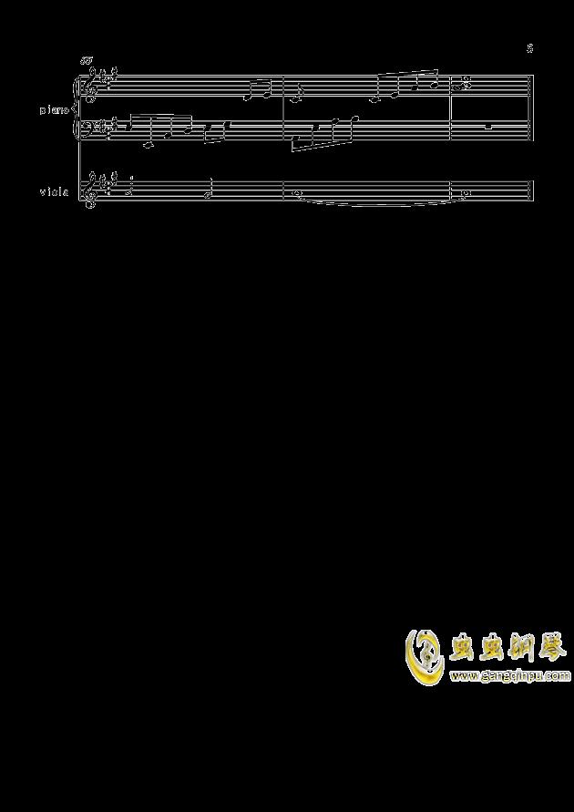 寒衣夜思量(原创)钢琴谱 第5页