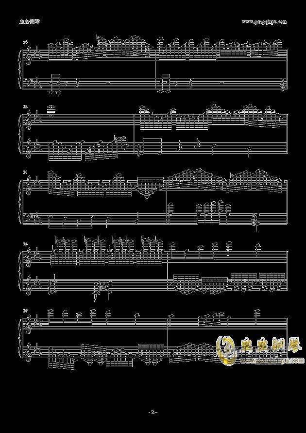 Cytus Chapter K钢琴谱 第2页