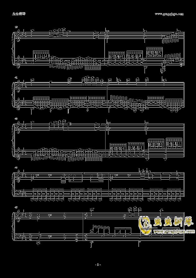 Cytus Chapter K钢琴谱 第5页