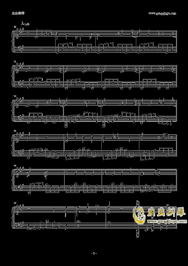 Let Me Hear钢琴谱 第2页