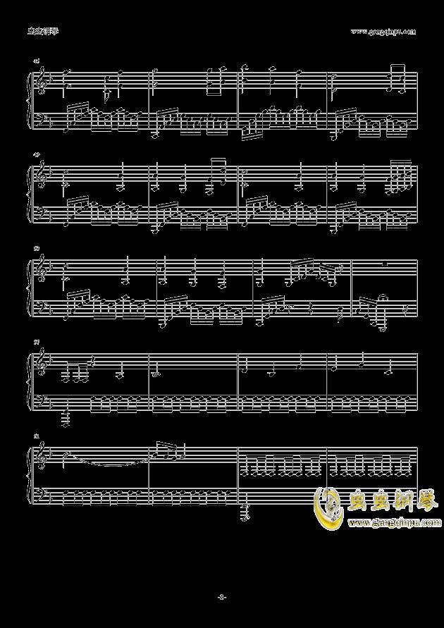 Magic of love钢琴谱 第3页