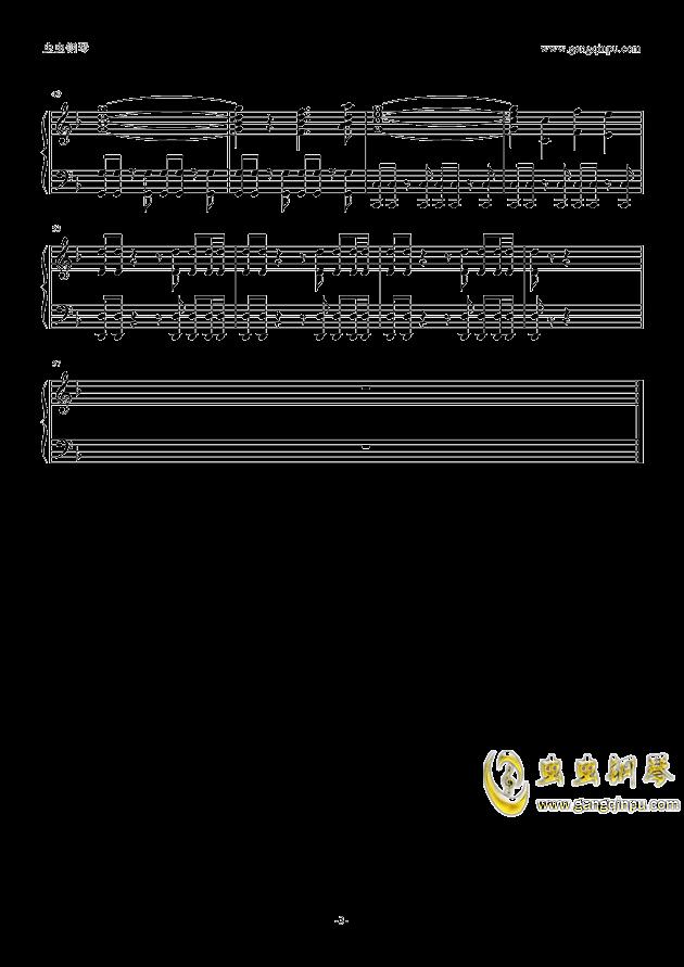 Atlantis钢琴谱 第3页
