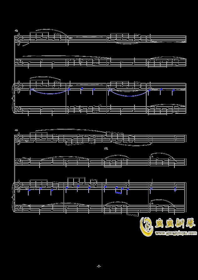 很唯美的复调二声部合唱,很唯美的复调二声部合唱钢琴谱,很唯美的