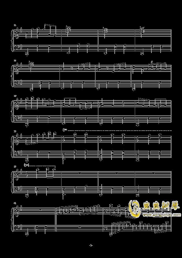 古人偶的光阴钢琴谱 第2页
