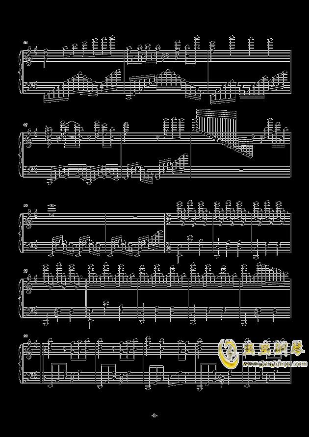 古人偶的光阴钢琴谱 第3页