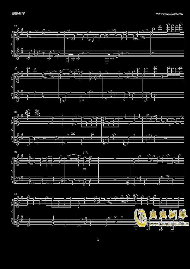 yuuki钢琴谱 第2页