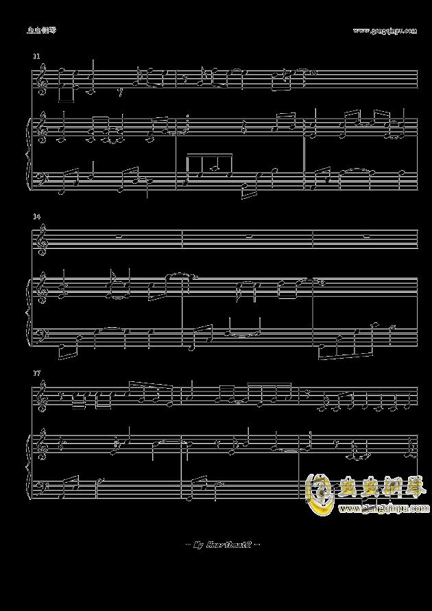 heart 钢琴谱