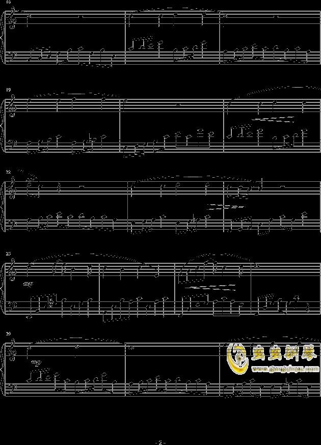 调色盘钢琴谱 第2页