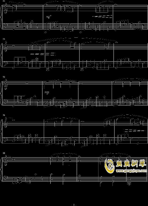 调色盘钢琴谱 第5页