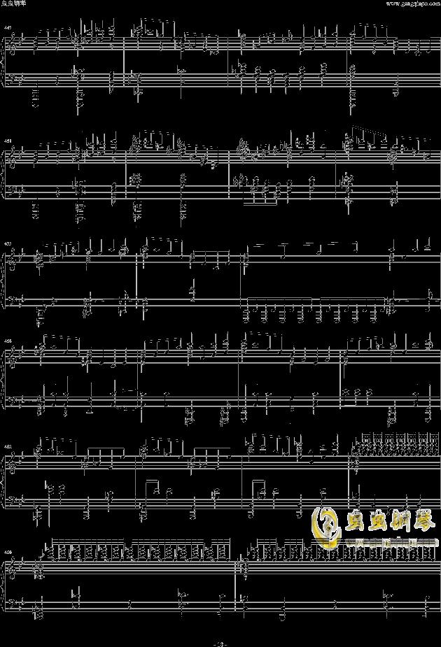 布鲁克纳第五交响曲第四乐章钢琴钢琴谱 第18页