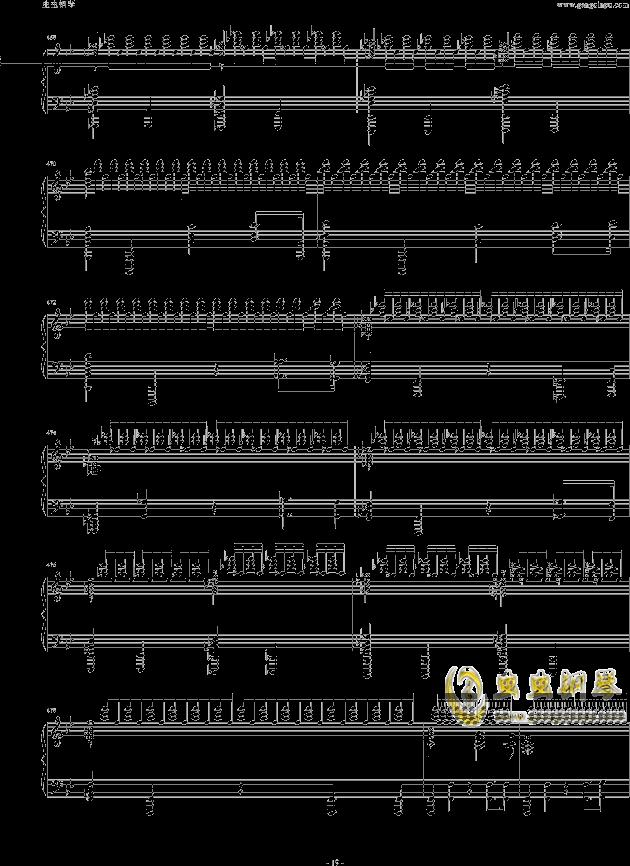 布鲁克纳第五交响曲第四乐章钢琴钢琴谱 第19页
