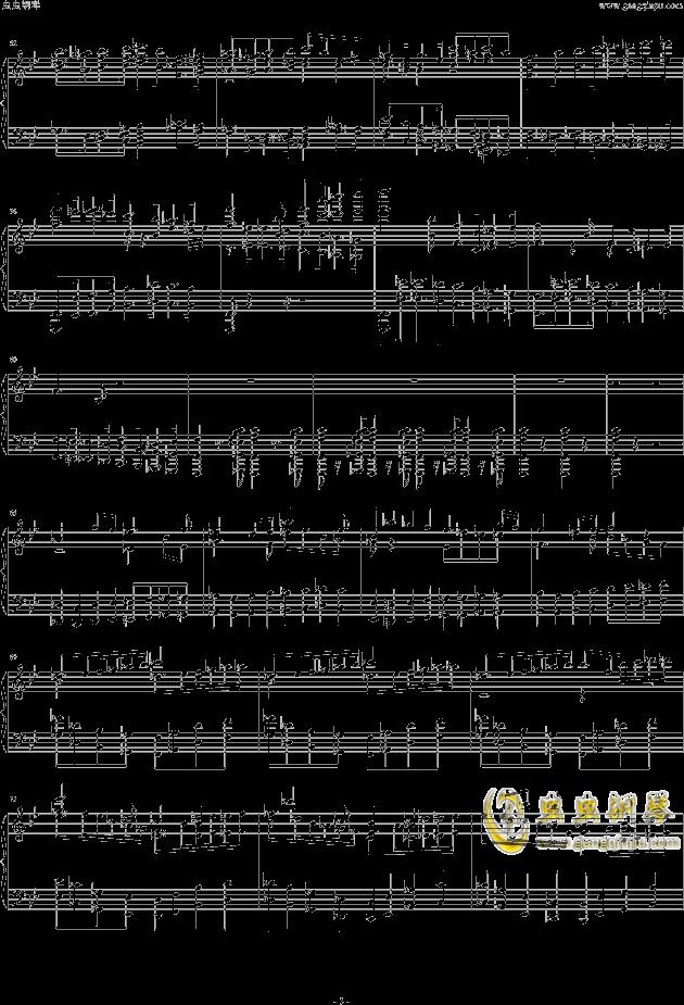 布鲁克纳第五交响曲第四乐章钢琴钢琴谱 第3页