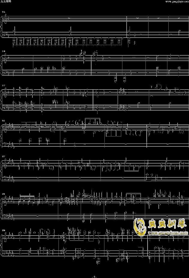 布鲁克纳第五交响曲第四乐章钢琴钢琴谱 第9页