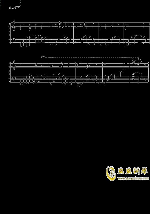 万水千山总是情钢琴谱 第2页
