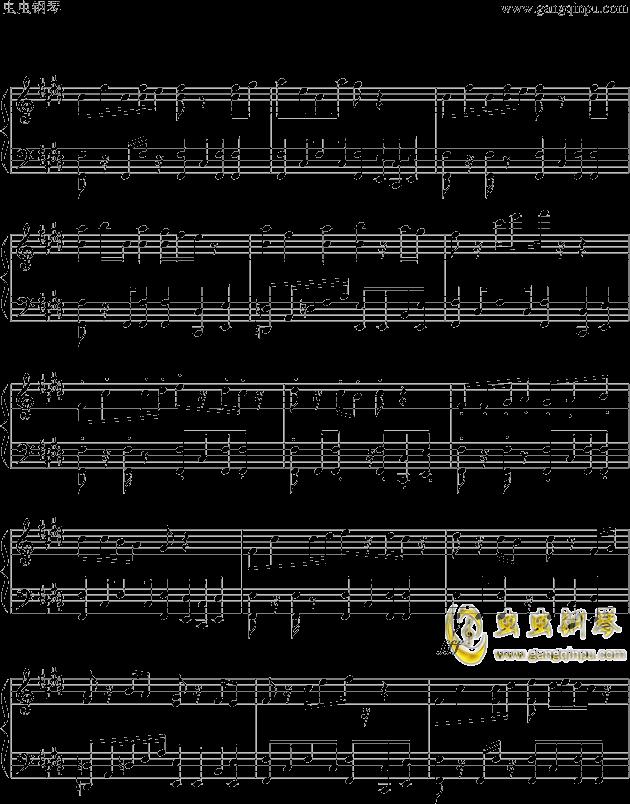 狮王之傲旅店钢琴谱 第2页
