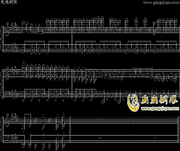 狮王之傲旅店钢琴谱 第8页