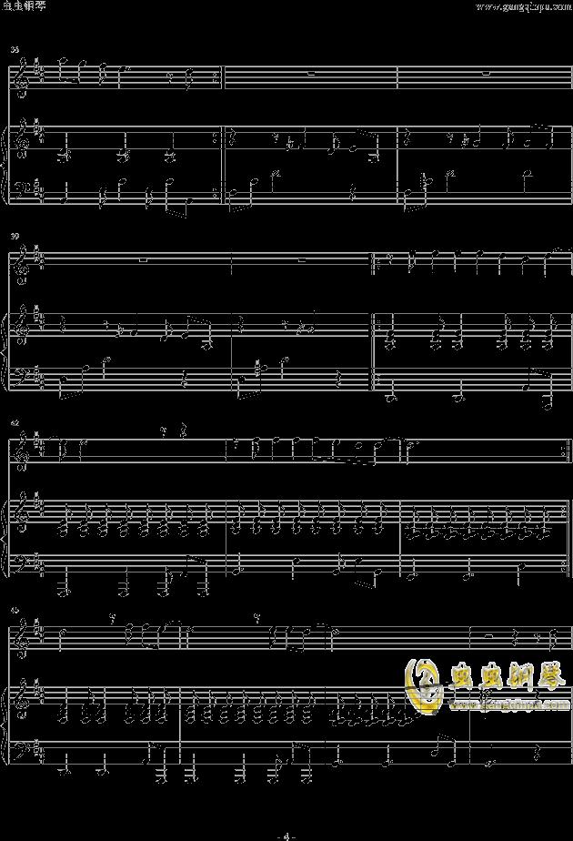 虫虫钢琴 钢琴谱 >> 华语女歌手 >> 邓紫棋 >>我的秘密-piano version