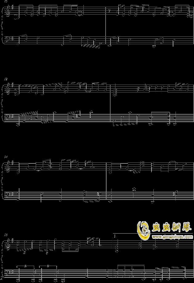 单车钢琴谱 第2页