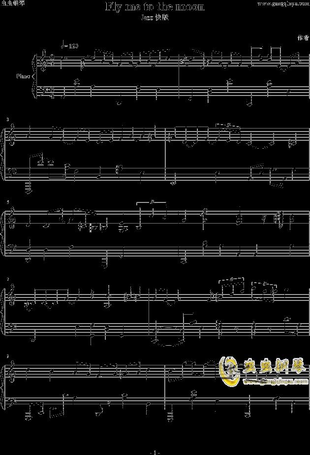 tothemoon钢琴谱
