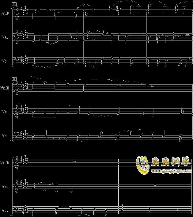 黎明前的黑暗钢琴谱 第2页