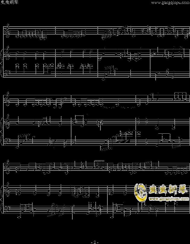 偶尔钢琴谱 第2页