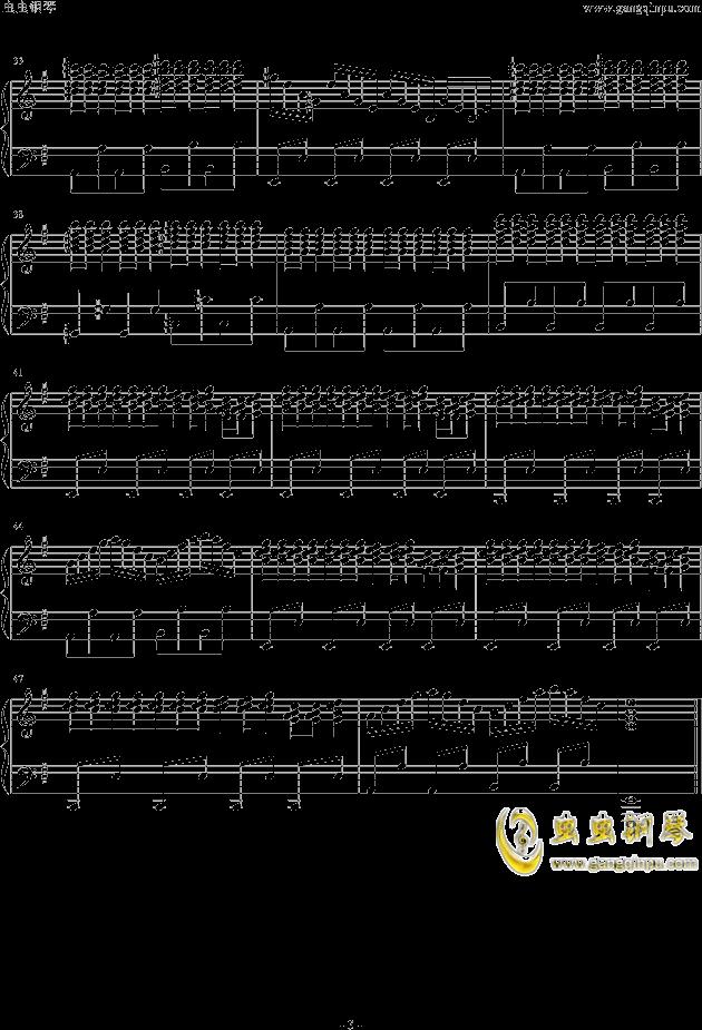 东京热片头曲,东京热片头曲钢琴谱,东京热片头曲钢琴谱网,东京