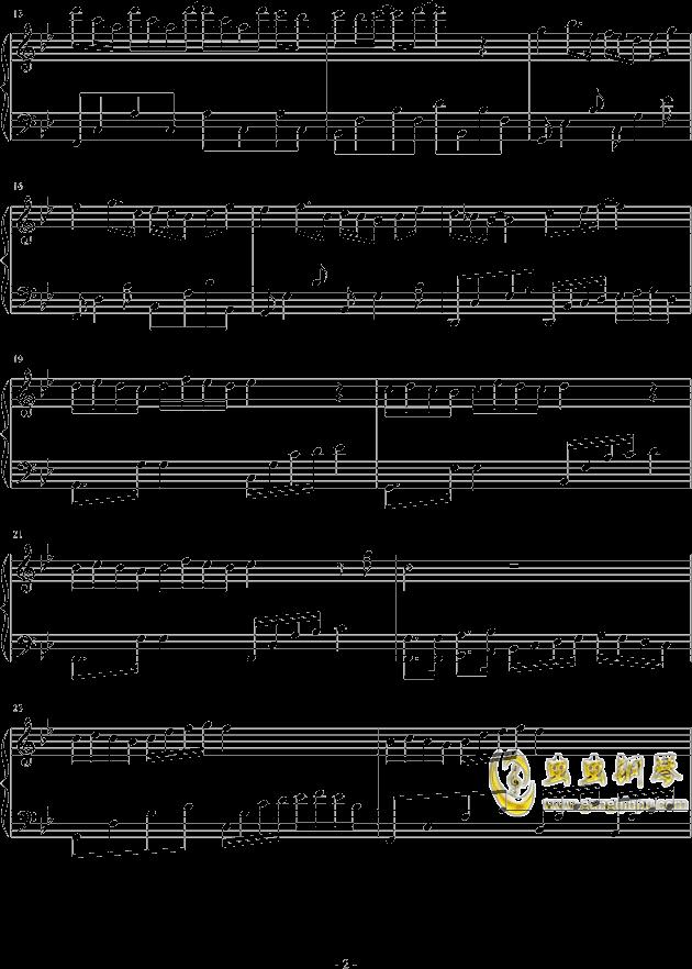 他梦星尘原曲谱子-梦忆,梦忆钢琴谱,梦忆钢琴谱网,梦忆钢琴谱大全,虫虫钢琴谱下载
