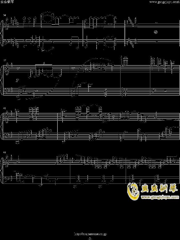 燕子歌谱钢琴正版