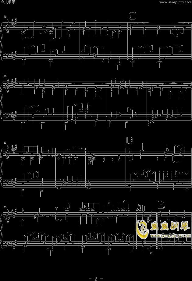Friend钢琴谱 第2页