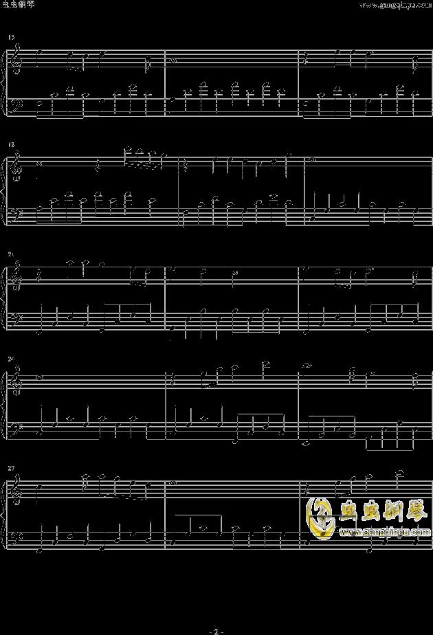时间煮雨钢琴谱 第2页