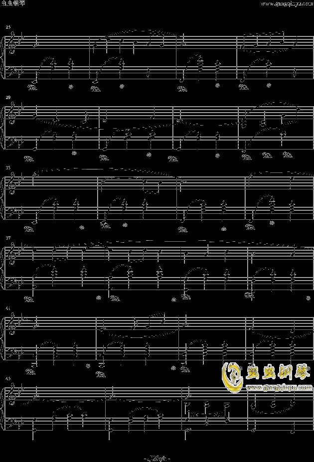 冒险岛背景音乐钢琴谱 第2页