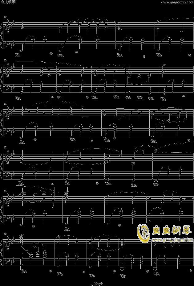 冒险岛背景音乐钢琴谱 第3页