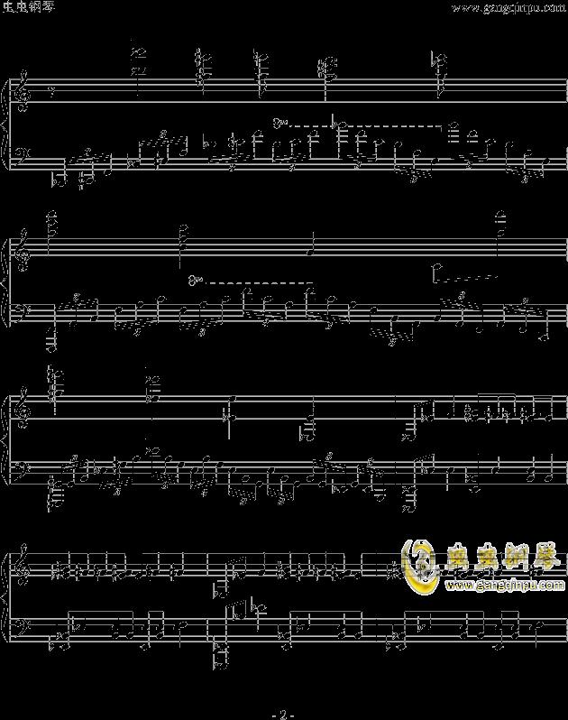 魔兽世界钢琴谱 第2页