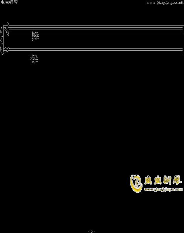 魔兽世界钢琴谱 第5页