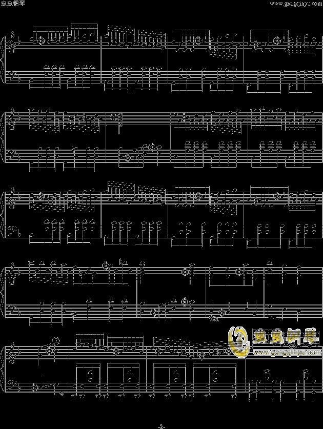Run Away钢琴谱 第2页
