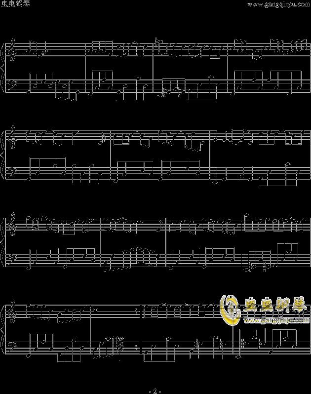 步步钢琴谱 第2页