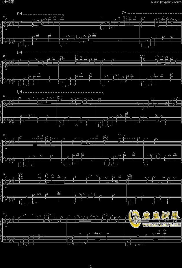 My Home钢琴谱 第2页