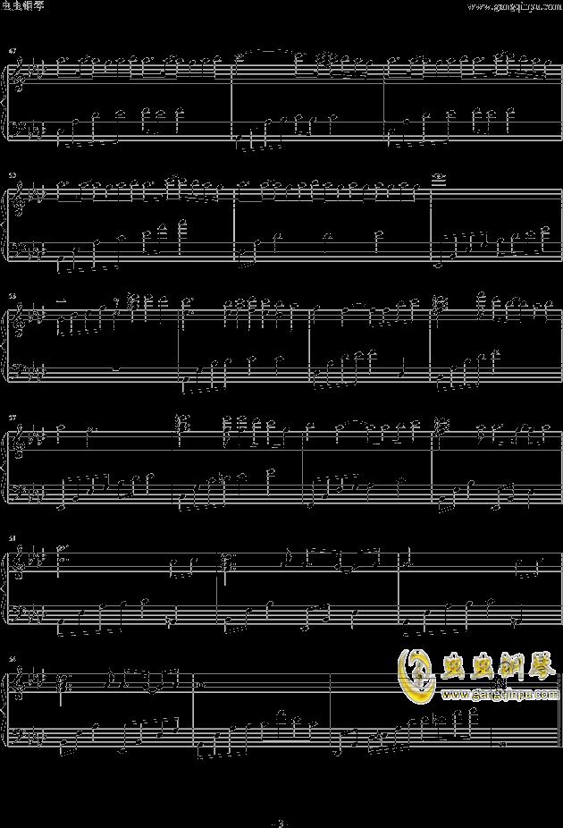 My Home钢琴谱 第3页