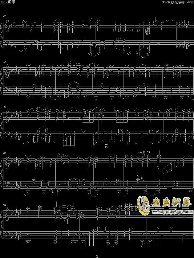 魔法少女小圆OP钢琴谱 第3页