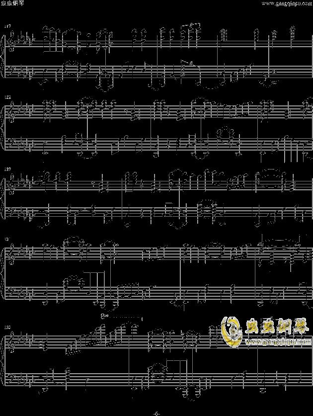 魔法少女小圆OP钢琴谱 第6页