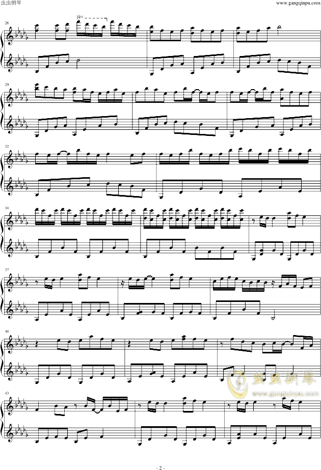 Luv letter In how版 ,Luv letter In how版 钢琴谱,Luv letter In how版 钢